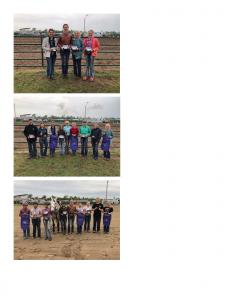 2019 4-H Tri-County Buckle Series Winners