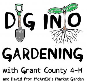 Dig into Gardening with Grant County 4-H and David from McArdle's Market Garden